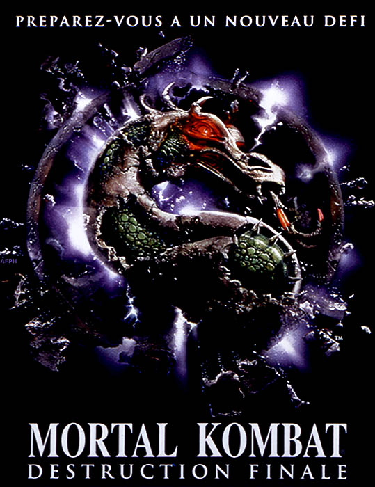 Mortal Kombat, destruction finale affiche